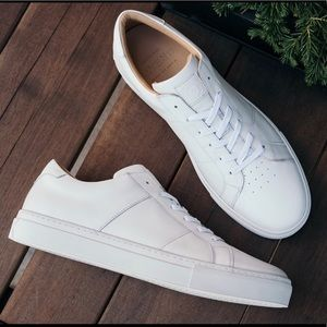 GREATS Brooklyn Leather Sneakers Lace Up Italy